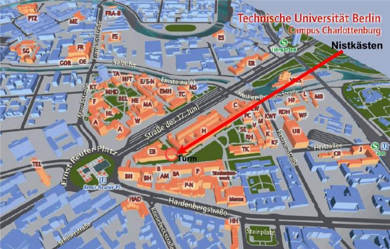 Campus Plan Tu Berlin